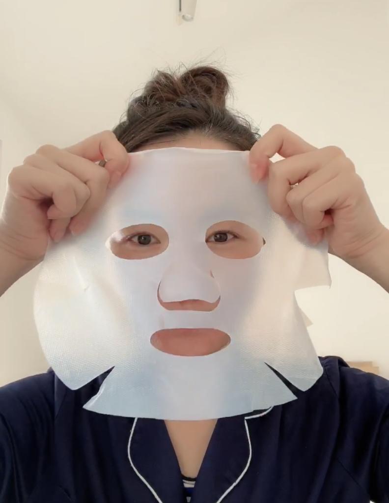 シルキークリアミルラのマスク着用